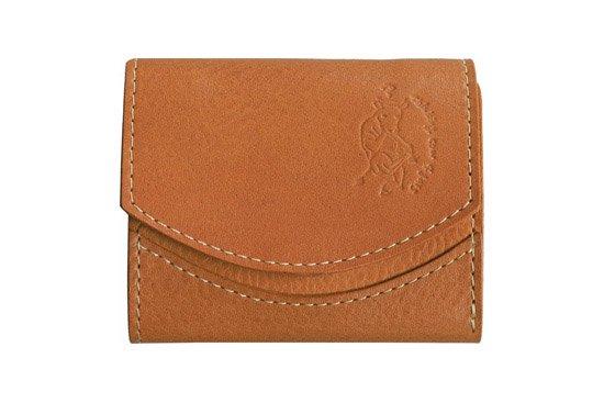【限定】小さい財布  小さいふ。イタリアンレザーシリーズ「ペケーニョ  VOLPI ヴォルピ社 オイルレザー ベージュ」