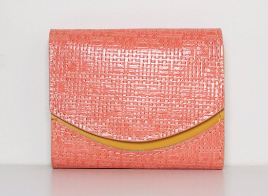 ミニ財布  今日の小さいふシリーズ「ペケーニョ coral コーラル<  B  >20年12月14日」