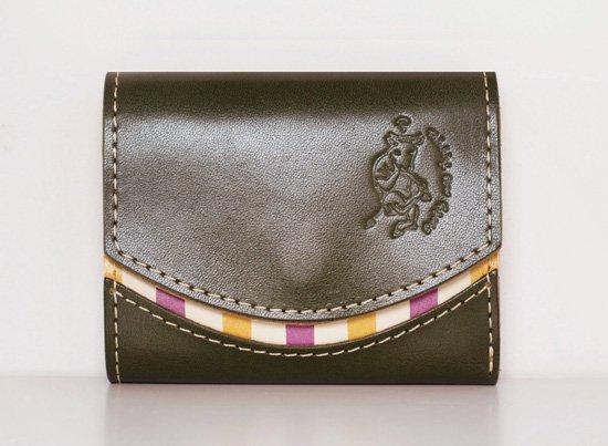 ミニ財布  今日の小さいふシリーズ「ペケーニョ よもぎ餅<  A  >20年12月18日」
