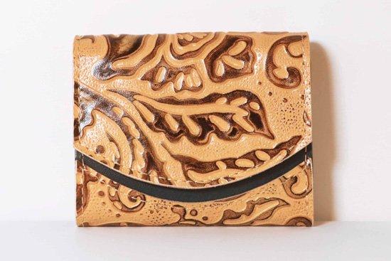 ミニ財布  今日の小さいふシリーズ「ペケーニョ latte macchiato<  B  >21年1月7日」