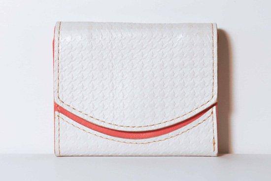 ミニ財布  今日の小さいふシリーズ「ペケーニョ 雪割草<  A  >21年1月12日」