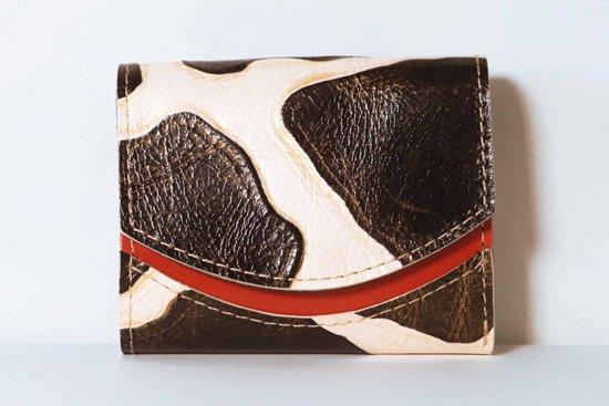 ミニ財布  今日の小さいふシリーズ「ペケーニョ moo (ムー)<  A  >21年1月3日」