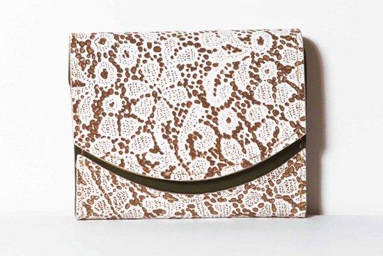 ミニ財布  今日の小さいふシリーズ「ペケーニョ フラワーショコラ<  B  >21年1月17日」