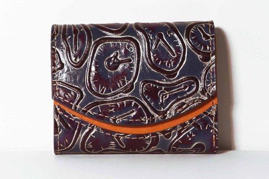 ミニ財布  今日の小さいふシリーズ「ペケーニョ 柔らかい時計<  A  >21年1月18日」