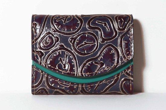 ミニ財布  今日の小さいふシリーズ「ペケーニョ 柔らかい時計<  B  >21年1月18日」