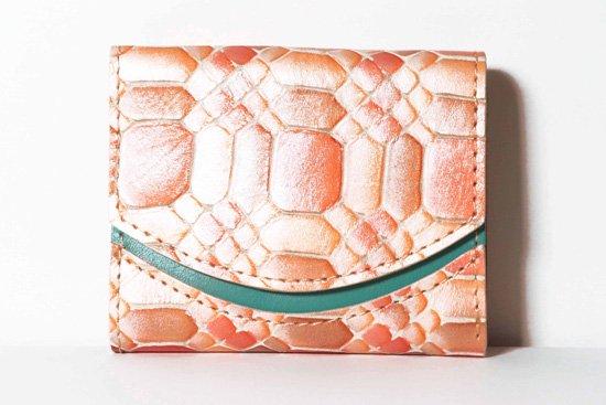 ミニ財布  今日の小さいふシリーズ「ペケーニョ グレープフルーツ ルビー<  A  >21年1月19日」