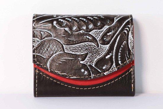 ミニ財布  今日の小さいふシリーズ「ペケーニョ ティキ<  A  >21年1月24日」