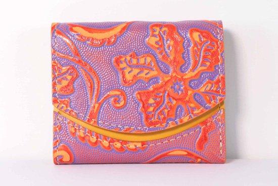 ミニ財布  今日の小さいふシリーズ「ペケーニョ 琉球の華<  B  >21年2月1日」