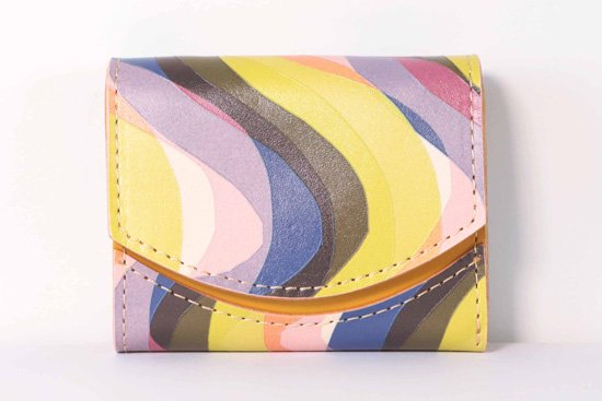 ミニ財布  今日の小さいふシリーズ「ペケーニョ オーロラ<  B  >21年2月6日」