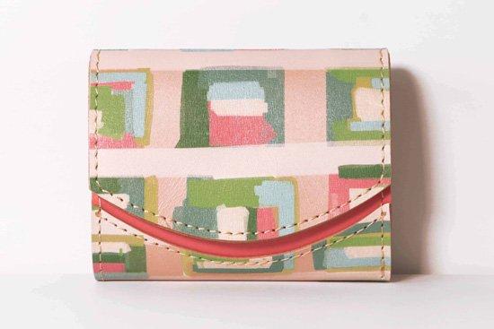 ミニ財布  今日の小さいふシリーズ「ペケーニョ ハートの向こう側<  A  >21年2月14日」