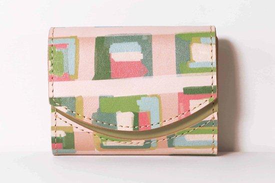 ミニ財布  今日の小さいふシリーズ「ペケーニョ ハートの向こう側< B >21年2月14日」