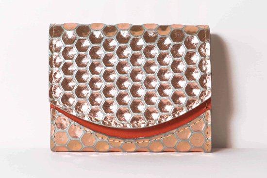 ミニ財布  今日の小さいふシリーズ「ペケーニョ honeycomb<  A  >21年2月13日」