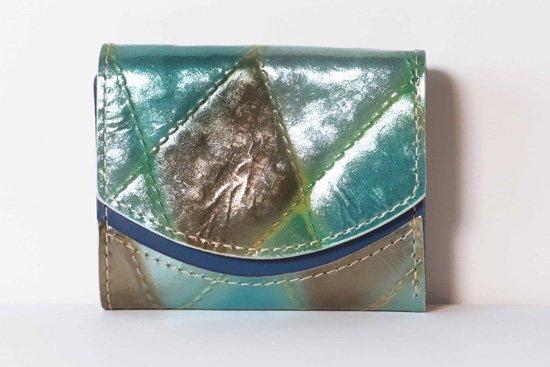 ミニ財布  今日の小さいふシリーズ「ペケーニョ バイカルの神秘< B >21年2月17日」
