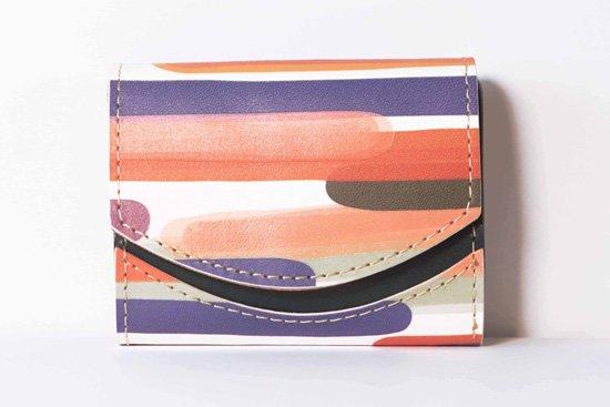 ミニ財布  今日の小さいふシリーズ「ペケーニョ サンセットビーチ< B >21年2月22日」