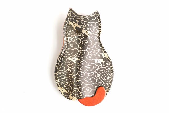「303匹の猫のうしろすがたをしたキーケース  世界で1つだけシリーズ」【236】