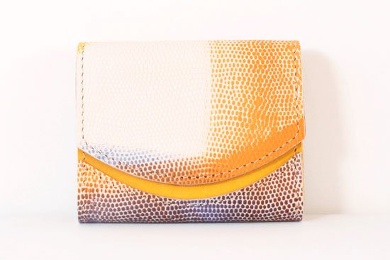 ミニ財布  今日の小さいふシリーズ「ペケーニョ 森の朝< B >21年3月5日」