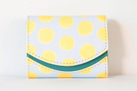ミニ財布  今日の小さいふシリーズ「ペケーニョ yolk< B >21年3月2日」