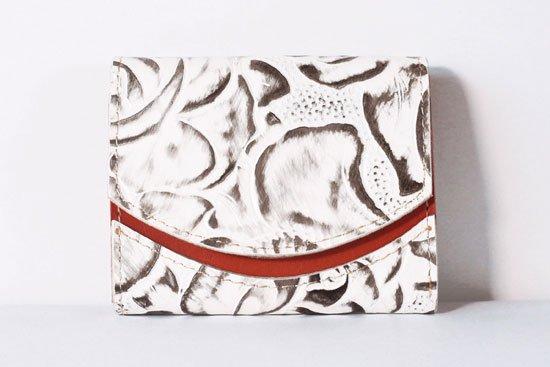 ミニ財布  今日の小さいふシリーズ「ペケーニョ ありがとうの花束を< A >21年3月9日」