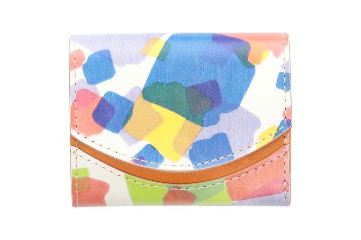 小さい財布 小さいふ。アートシリーズ「ペケーニョ ケイコロール 切箔」