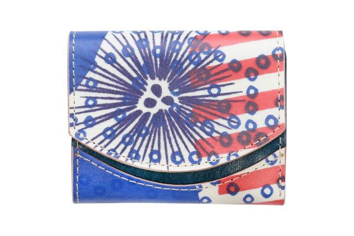 小さい財布 小さいふ。アートシリーズ「ペケーニョ ケイコロール 疋田の麻型とうに 」