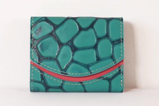 ミニ財布  今日の小さいふシリーズ「ペケーニョ 航跡波< B >21年3月30日」