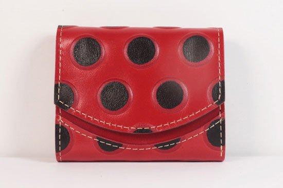 ミニ財布  世界でひとつだけシリーズ  小さいふ「ペケーニョ てんとう虫」#22