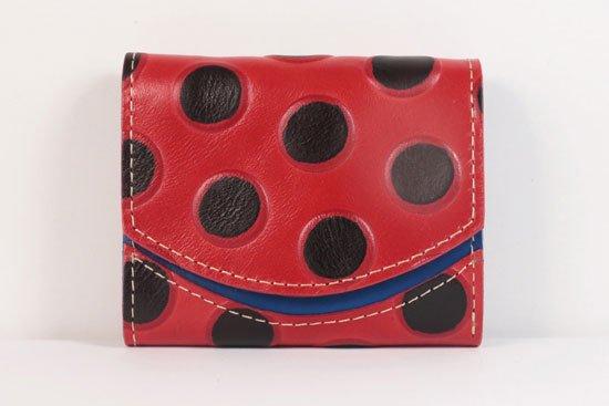 ミニ財布  世界でひとつだけシリーズ  小さいふ「ペケーニョ てんとう虫」#25