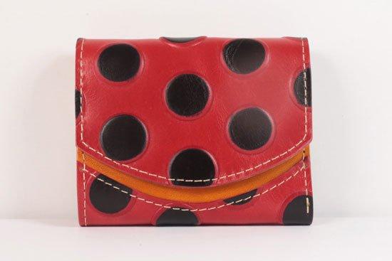 ミニ財布  世界でひとつだけシリーズ  小さいふ「ペケーニョ てんとう虫」#27