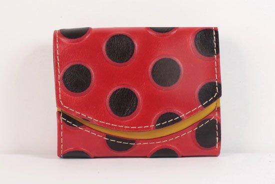 ミニ財布  世界でひとつだけシリーズ  小さいふ「ペケーニョ てんとう虫」#29