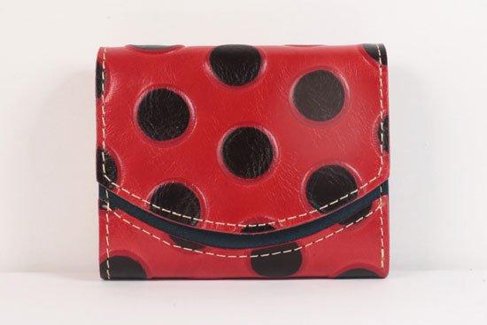 ミニ財布  世界でひとつだけシリーズ  小さいふ「ペケーニョ てんとう虫」#31