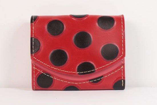 ミニ財布  世界でひとつだけシリーズ  小さいふ「ペケーニョ てんとう虫」#32