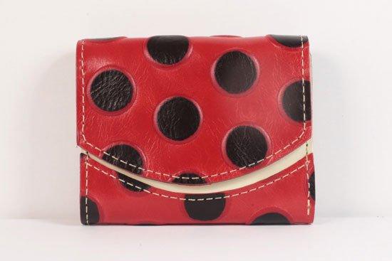 ミニ財布  世界でひとつだけシリーズ  小さいふ「ペケーニョ てんとう虫」#33