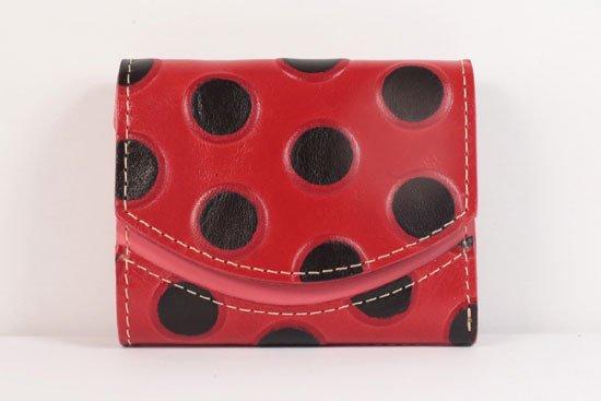 ミニ財布  世界でひとつだけシリーズ  小さいふ「ペケーニョ てんとう虫」#37