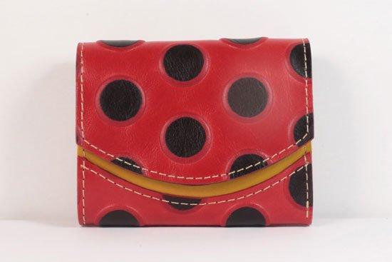 ミニ財布  世界でひとつだけシリーズ  小さいふ「ペケーニョ てんとう虫」#39