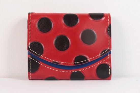 ミニ財布  世界でひとつだけシリーズ  小さいふ「ペケーニョ てんとう虫」#40