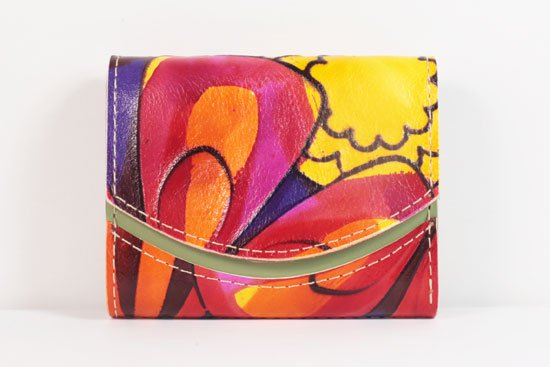 ミニ財布  世界でひとつだけシリーズ  小さいふ「ペケーニョ 母の日 アリス」#8