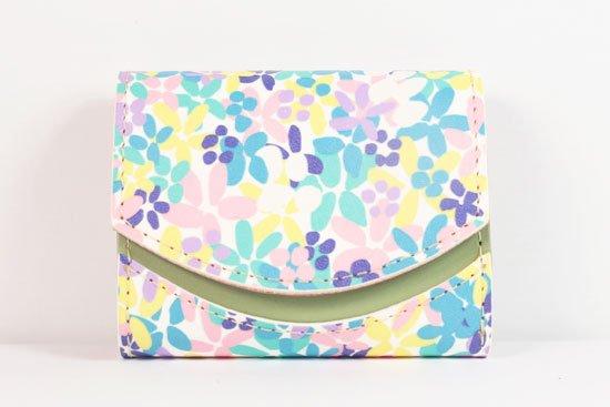 ミニ財布  世界でひとつだけシリーズ  小さいふ「ペケーニョ 母の日 花柄」#10