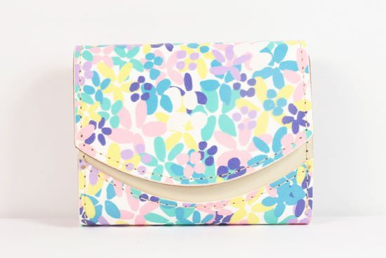 ミニ財布  世界でひとつだけシリーズ  小さいふ「ペケーニョ 母の日 花柄」#11