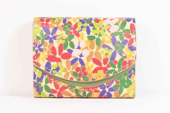 ミニ財布  世界でひとつだけシリーズ  小さいふ「ペケーニョ 母の日 花柄」#16