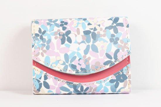 ミニ財布  世界でひとつだけシリーズ  小さいふ「ペケーニョ 母の日 花柄」#18