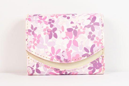 ミニ財布  世界でひとつだけシリーズ  小さいふ「ペケーニョ 母の日 花柄」#19
