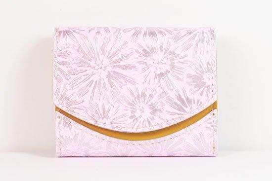 ミニ財布  世界でひとつだけシリーズ  小さいふ「ペケーニョ 母の日 花柄」#34