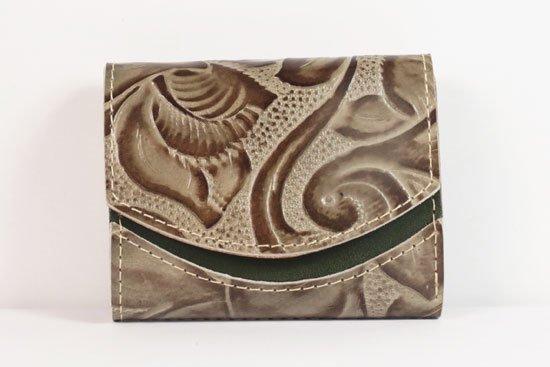 ミニ財布  世界でひとつだけシリーズ  小さいふ「ペケーニョ 母の日 花柄」#35