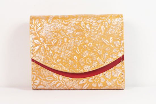 ミニ財布  世界でひとつだけシリーズ  小さいふ「ペケーニョ 母の日 花柄」#38