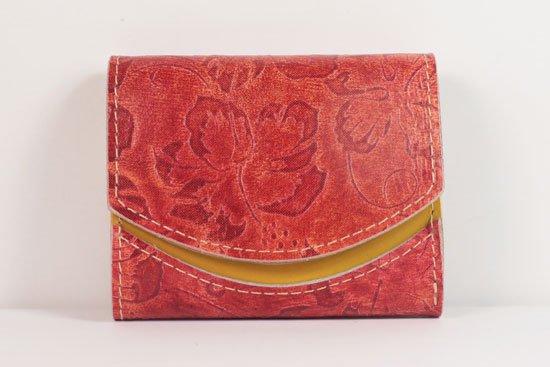 ミニ財布  世界でひとつだけシリーズ  小さいふ「ペケーニョ 母の日 花柄」#45