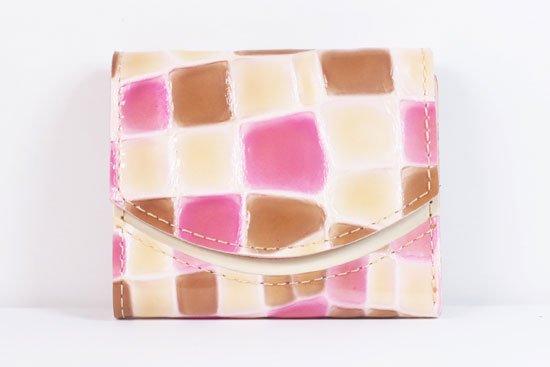 ミニ財布  世界でひとつだけシリーズ  小さいふ「ペケーニョ 母の日 ステンドグラス」#1