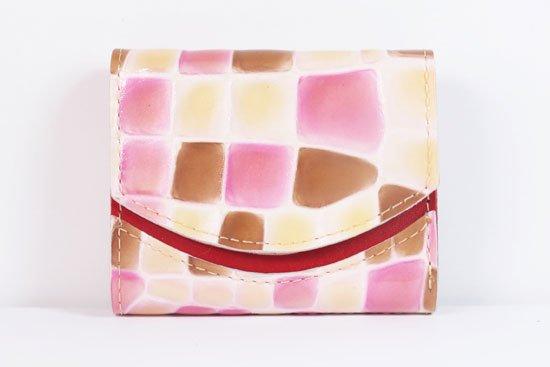 ミニ財布  世界でひとつだけシリーズ  小さいふ「ペケーニョ 母の日 ステンドグラス」#3