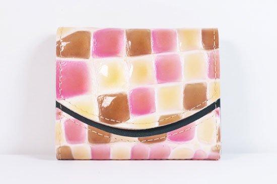 ミニ財布  世界でひとつだけシリーズ  小さいふ「ペケーニョ 母の日 ステンドグラス」#5