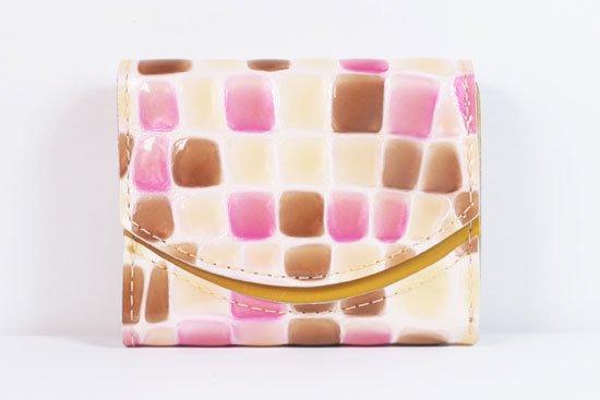 ミニ財布  世界でひとつだけシリーズ  小さいふ「ペケーニョ 母の日 ステンドグラス」#6