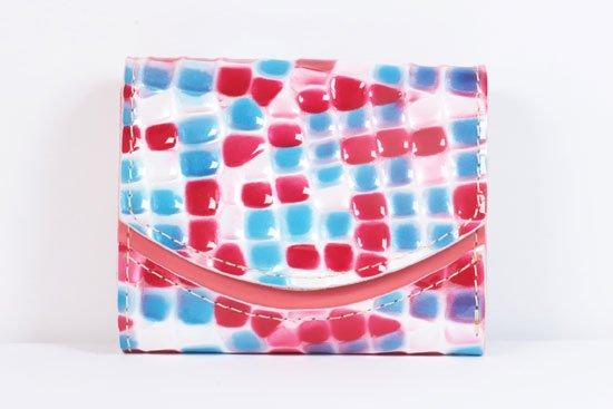 ミニ財布  世界でひとつだけシリーズ  小さいふ「ペケーニョ 母の日 ステンドグラス」#9